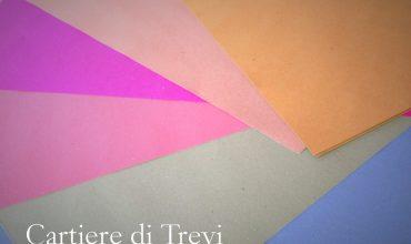 carte riciclate colorate