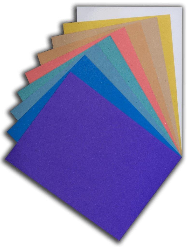 carte colorate riciclate