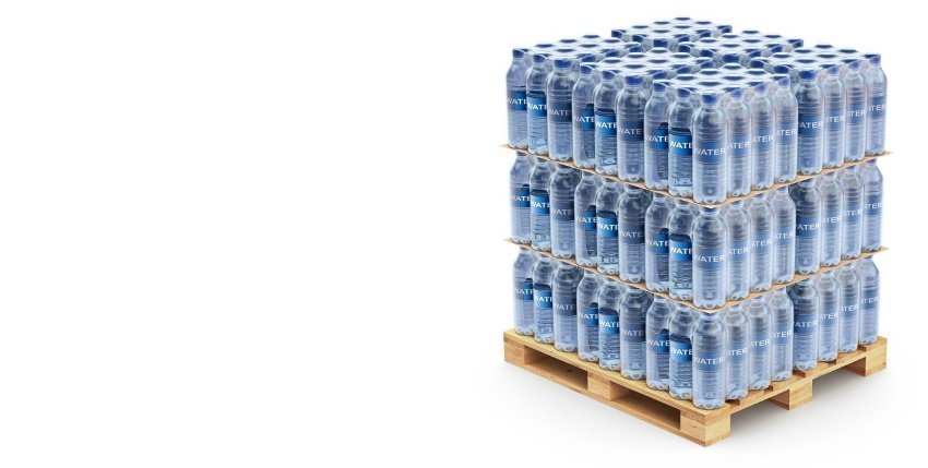 layer pads for bottles